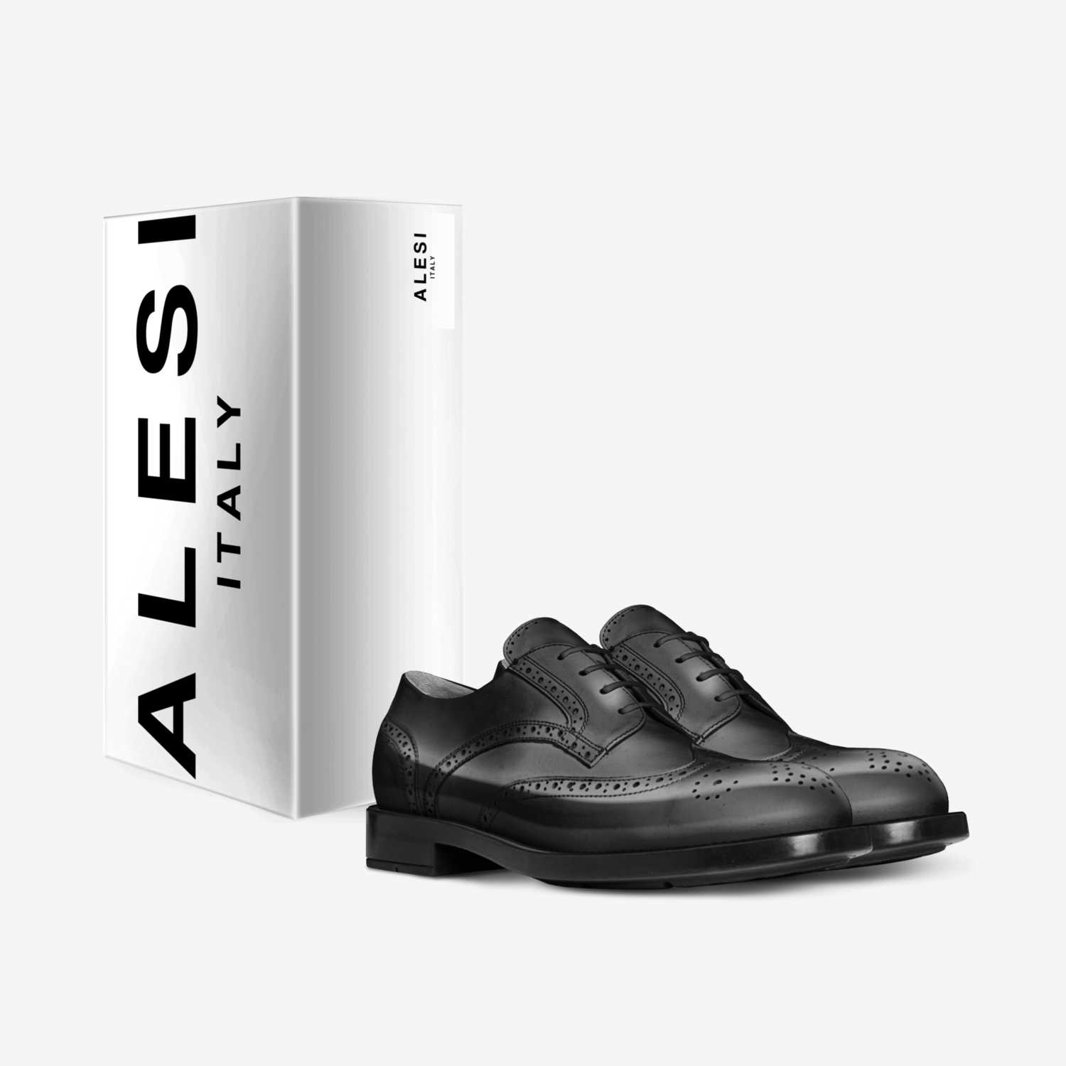 Alesi  custom made in Italy shoes by Lonanthony Parker | Box view