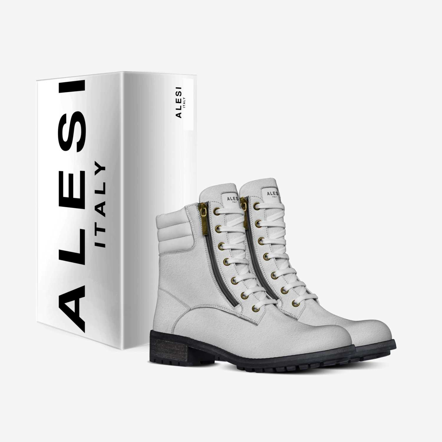 Alesi Lady Boots custom made in Italy shoes by Lonanthony Parker | Box view