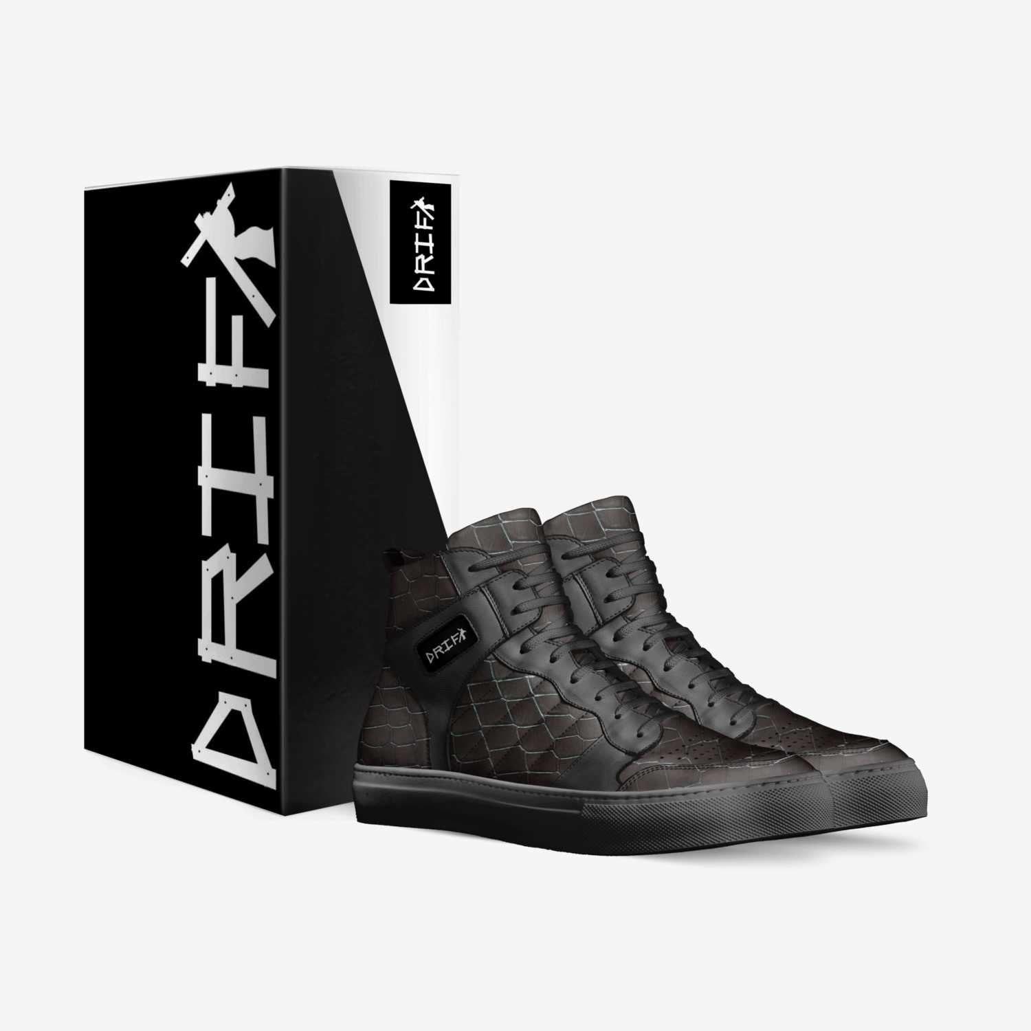DRIFT custom made in Italy shoes by Davion Wells | Box view