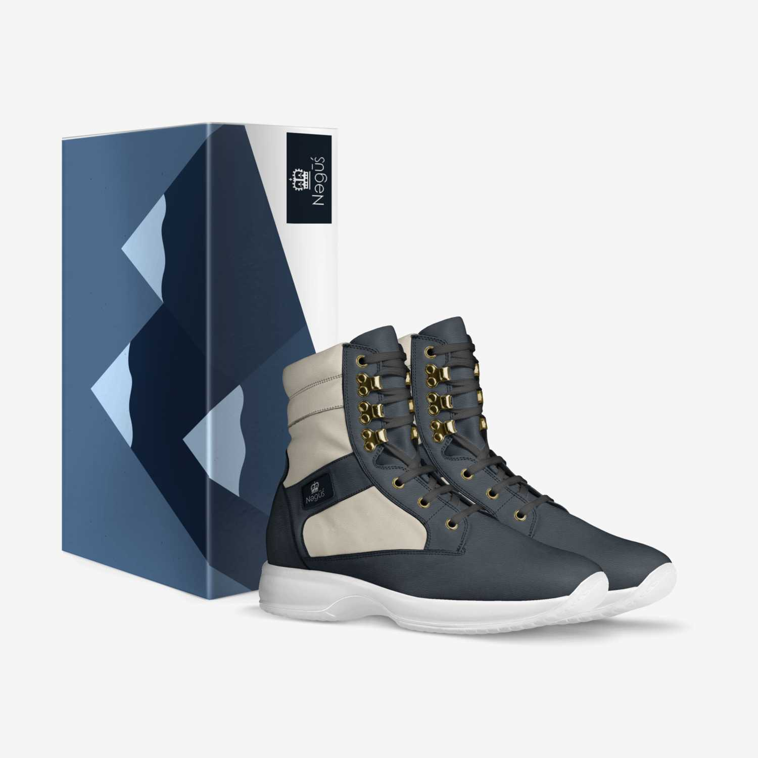 Negus custom made in Italy shoes by Negus Mills | Box view