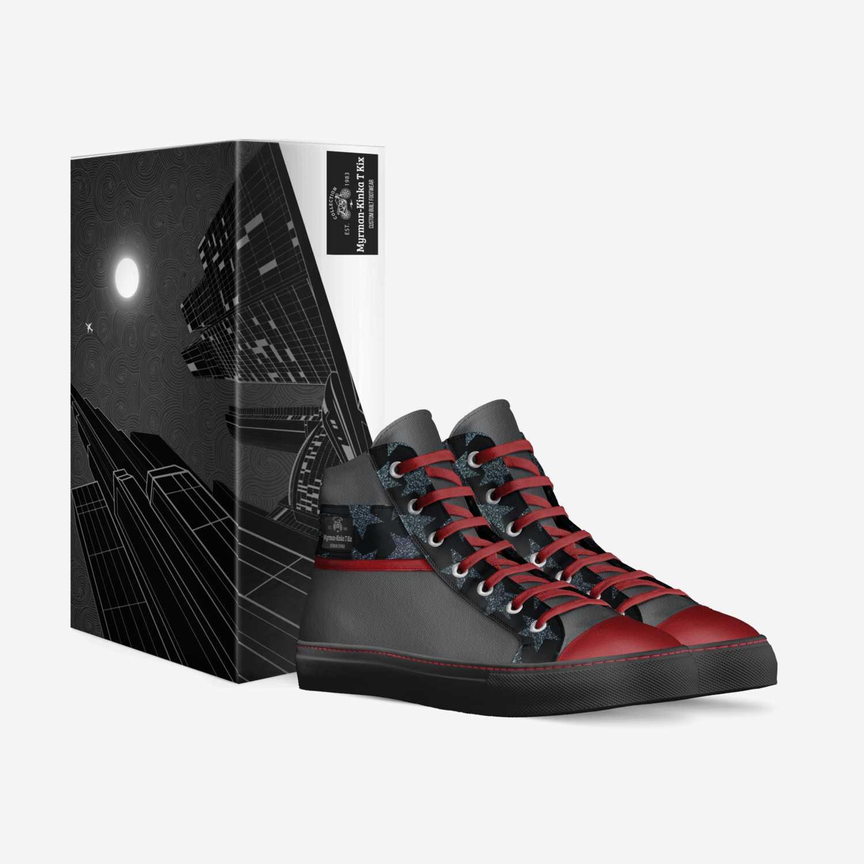 Myrman-Kinka T Kix custom made in Italy shoes by Kinka T Kix | Box view