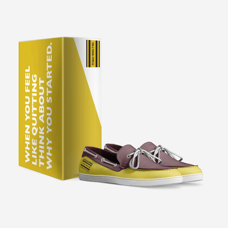 Trojan-Kinka T Kix custom made in Italy shoes by Kinka T Kix | Box view