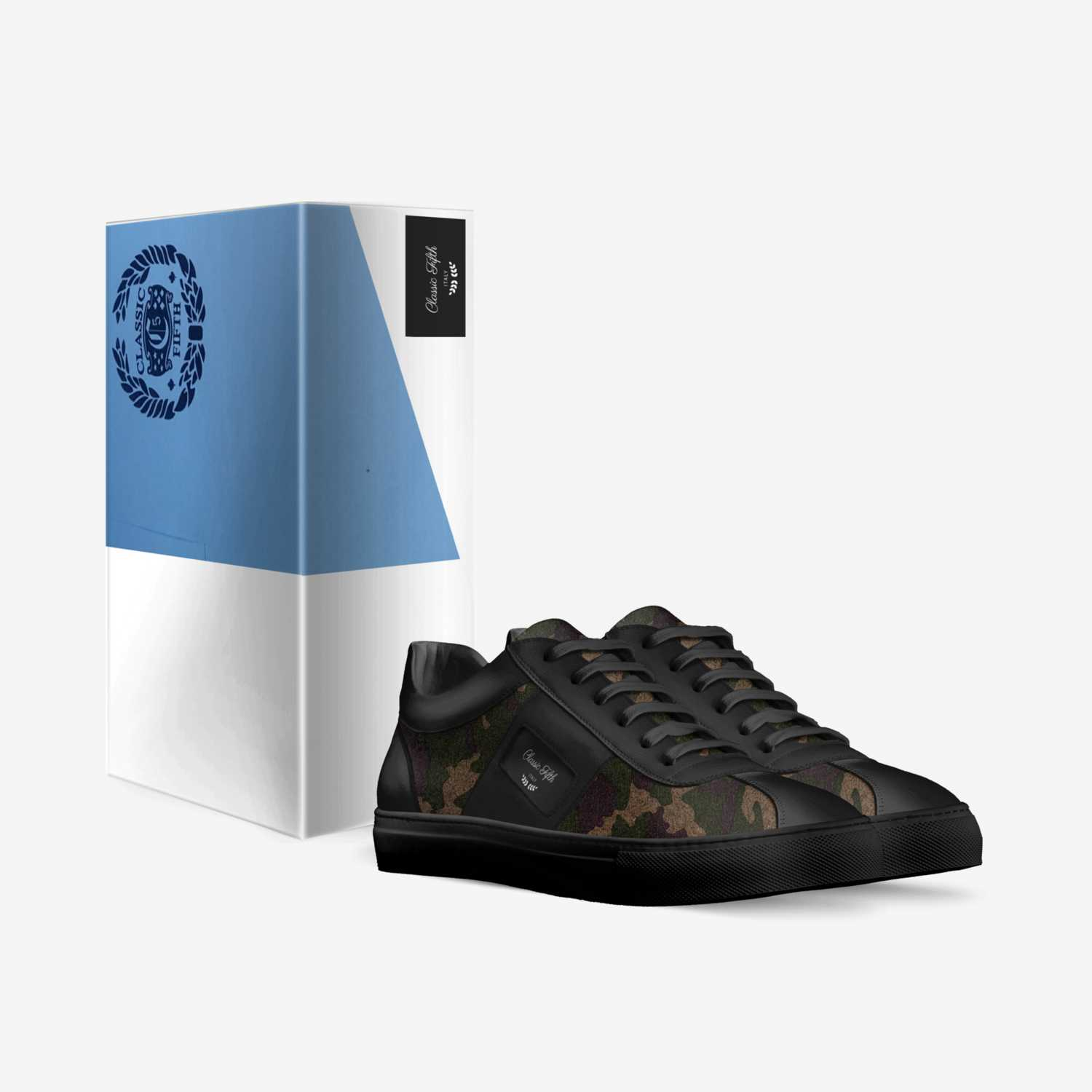 Classic Fifth  custom made in Italy shoes by Jerome Robinson | Box view