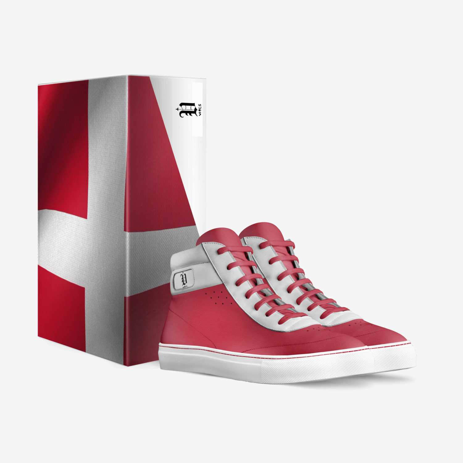 Vic's denmark custom made in Italy shoes by Brayden Murphy | Box view