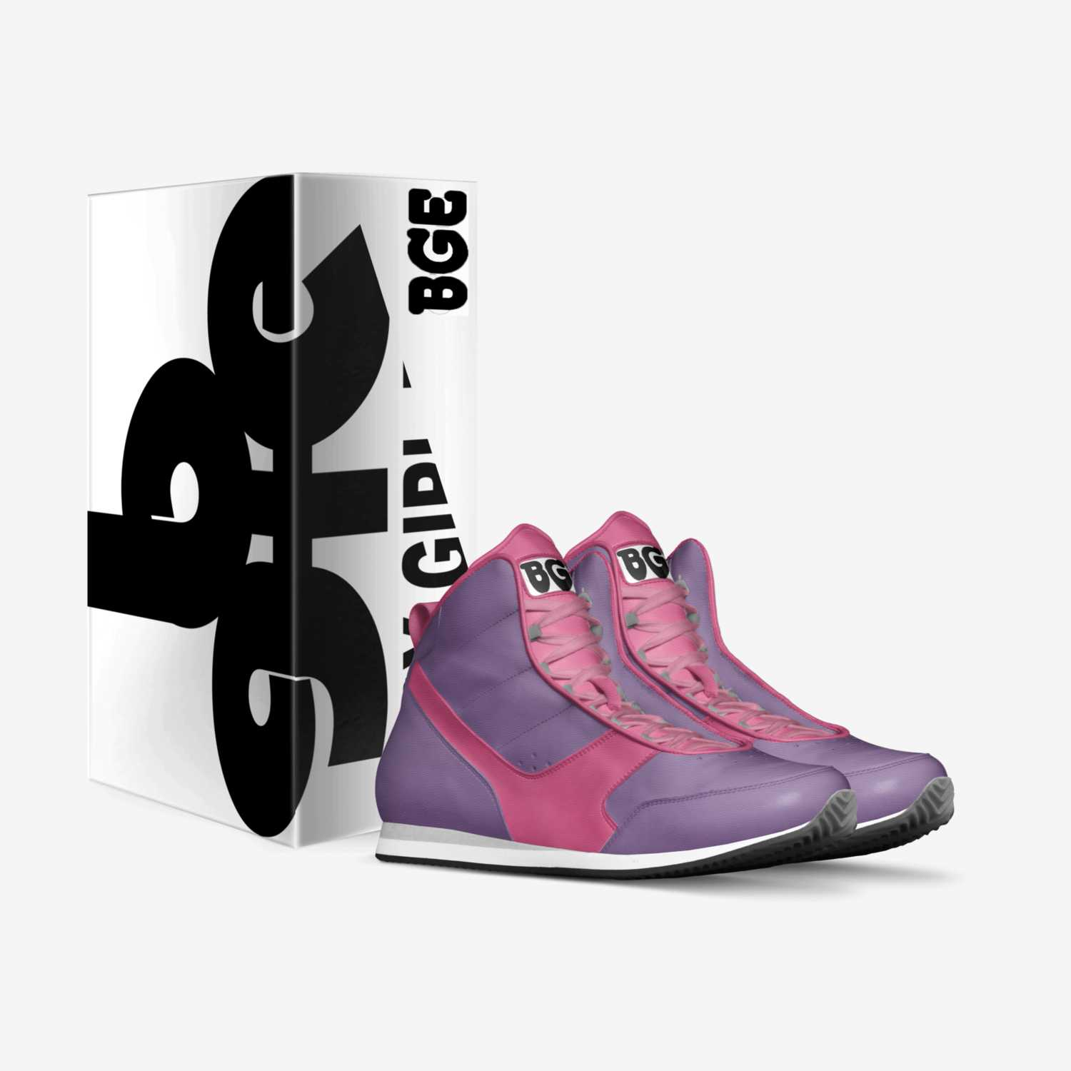 KB Purp Istinto custom made in Italy shoes by Baby-girl Elite | Box view