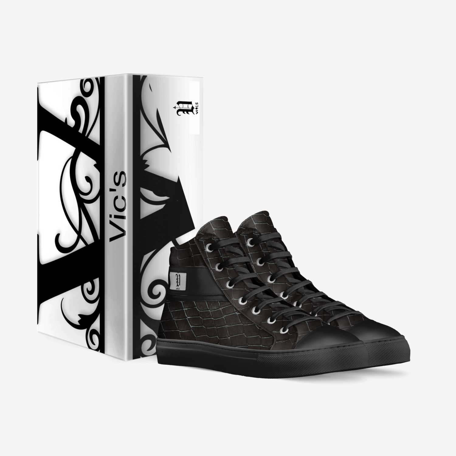 vics  custom made in Italy shoes by Brayden Murphy | Box view