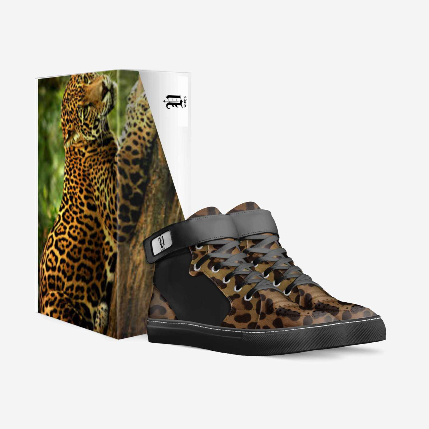 vics jaguar 3 custom made in Italy shoes by Brayden Murphy | Box view