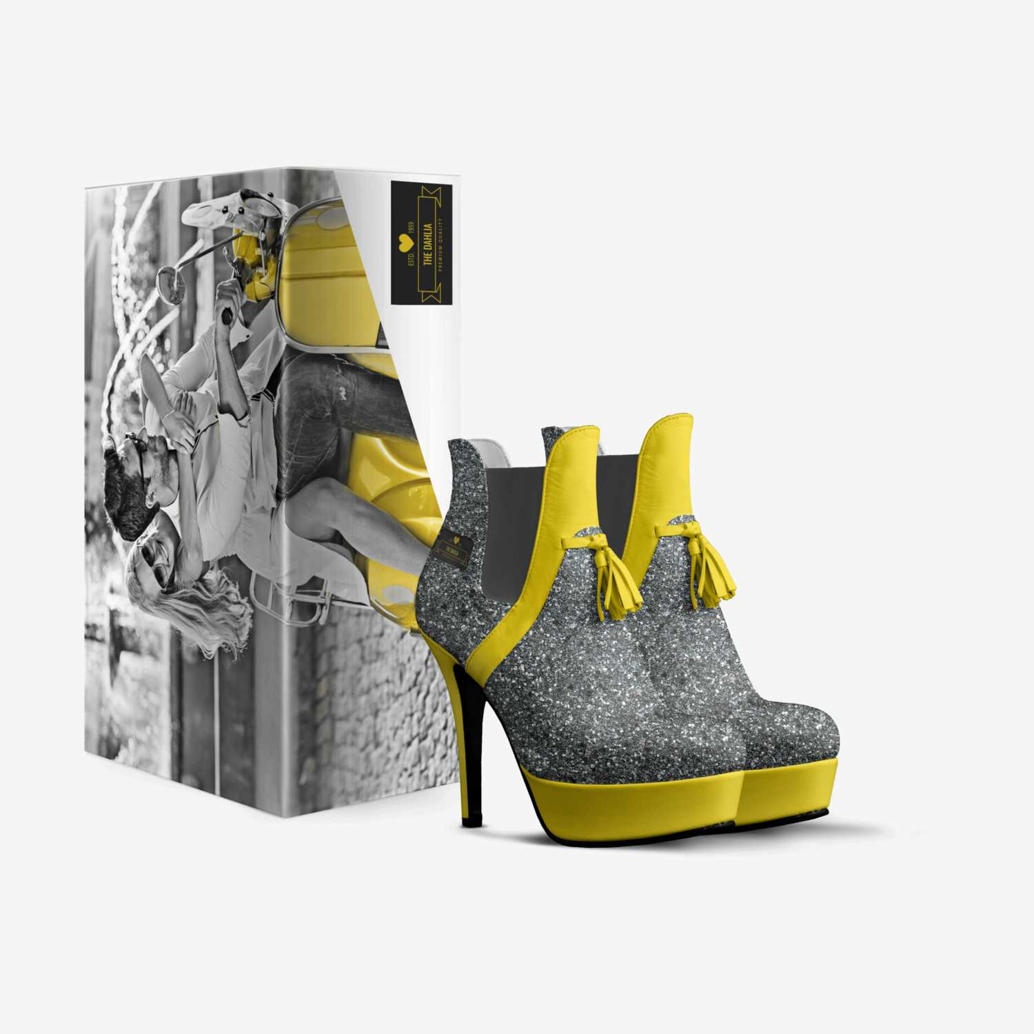 The DAHLIA custom made in Italy shoes by Troy Taylor | Box view