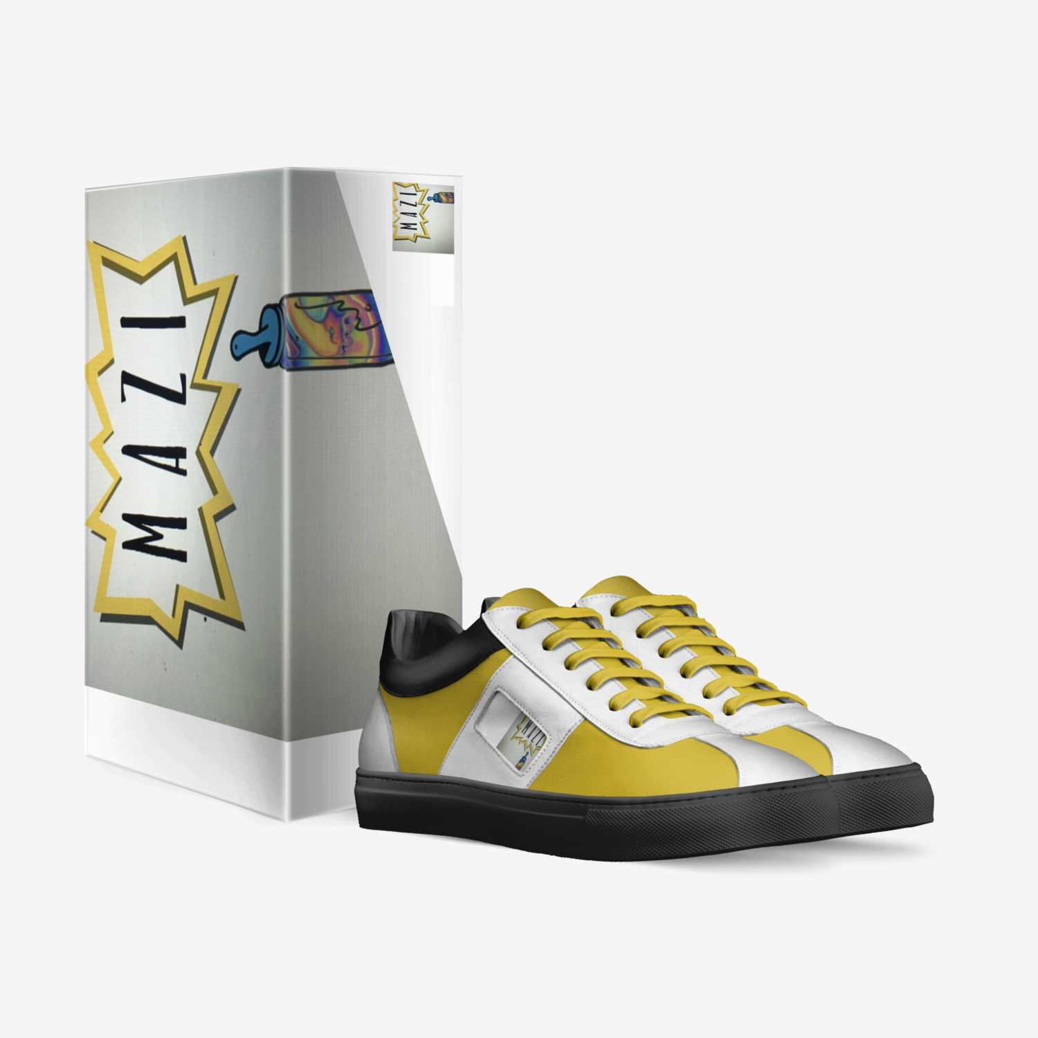 Mazi custom made in Italy shoes by Shaka Miller | Box view