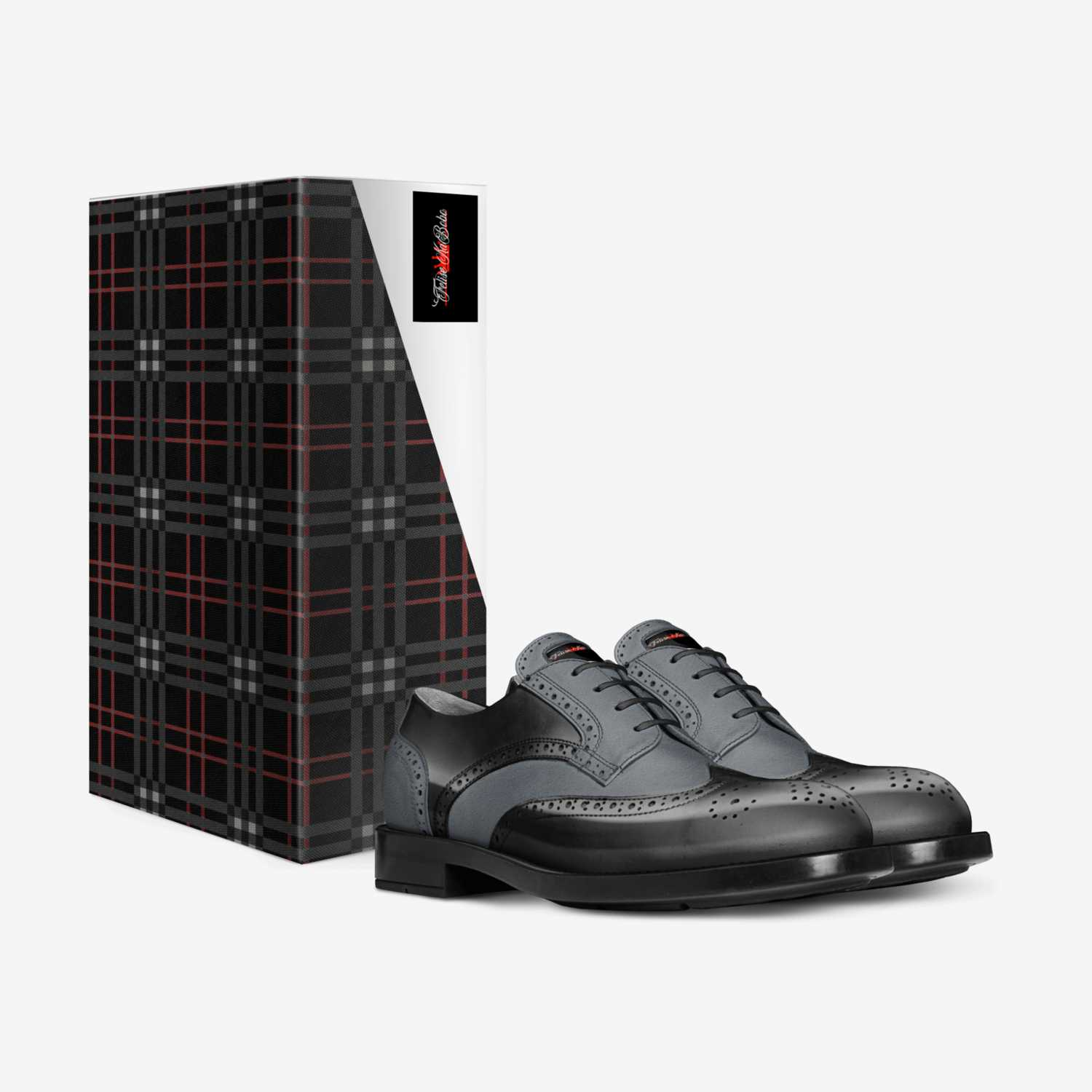 Felise KaBobo custom made in Italy shoes by Shamsud-din King | Box view