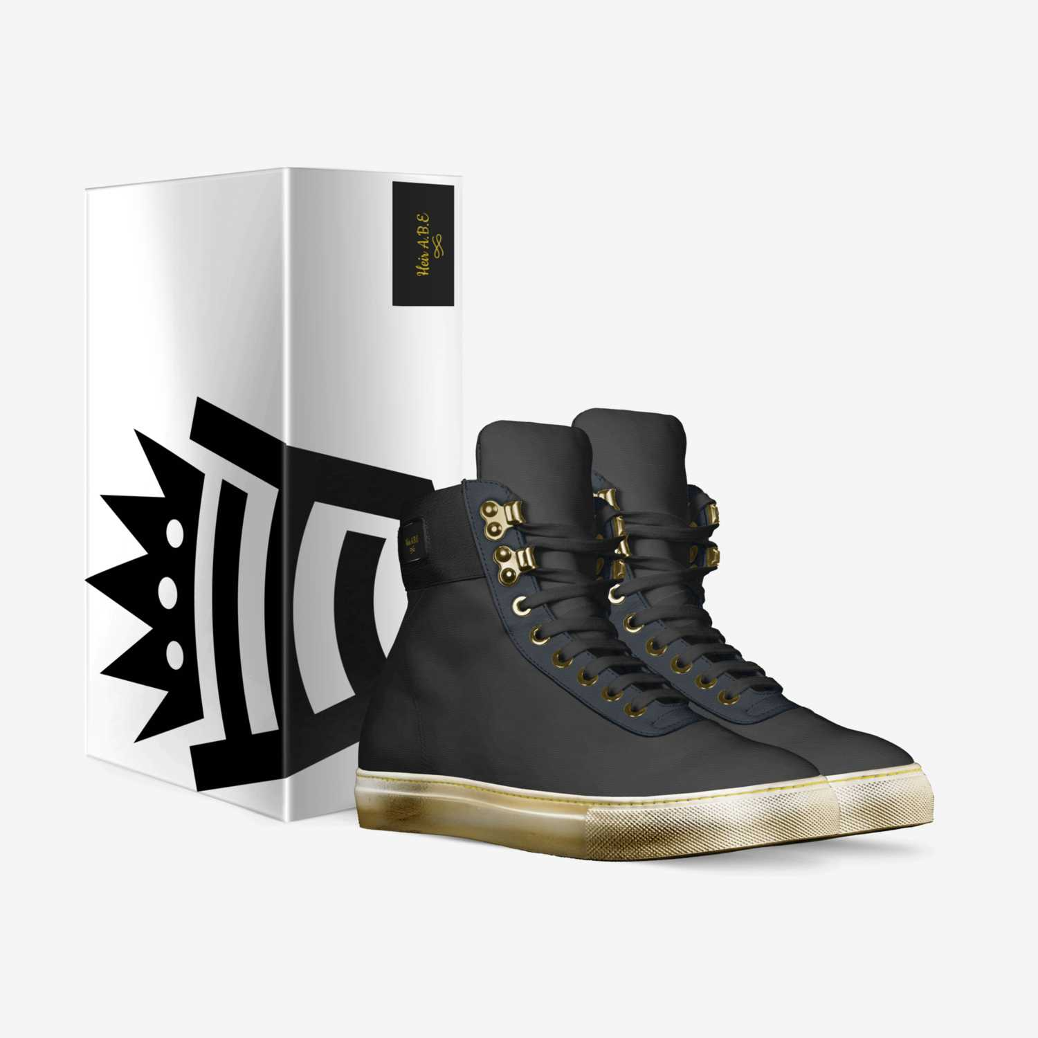 Heir A.B.E custom made in Italy shoes by Wheezy Cage | Box view