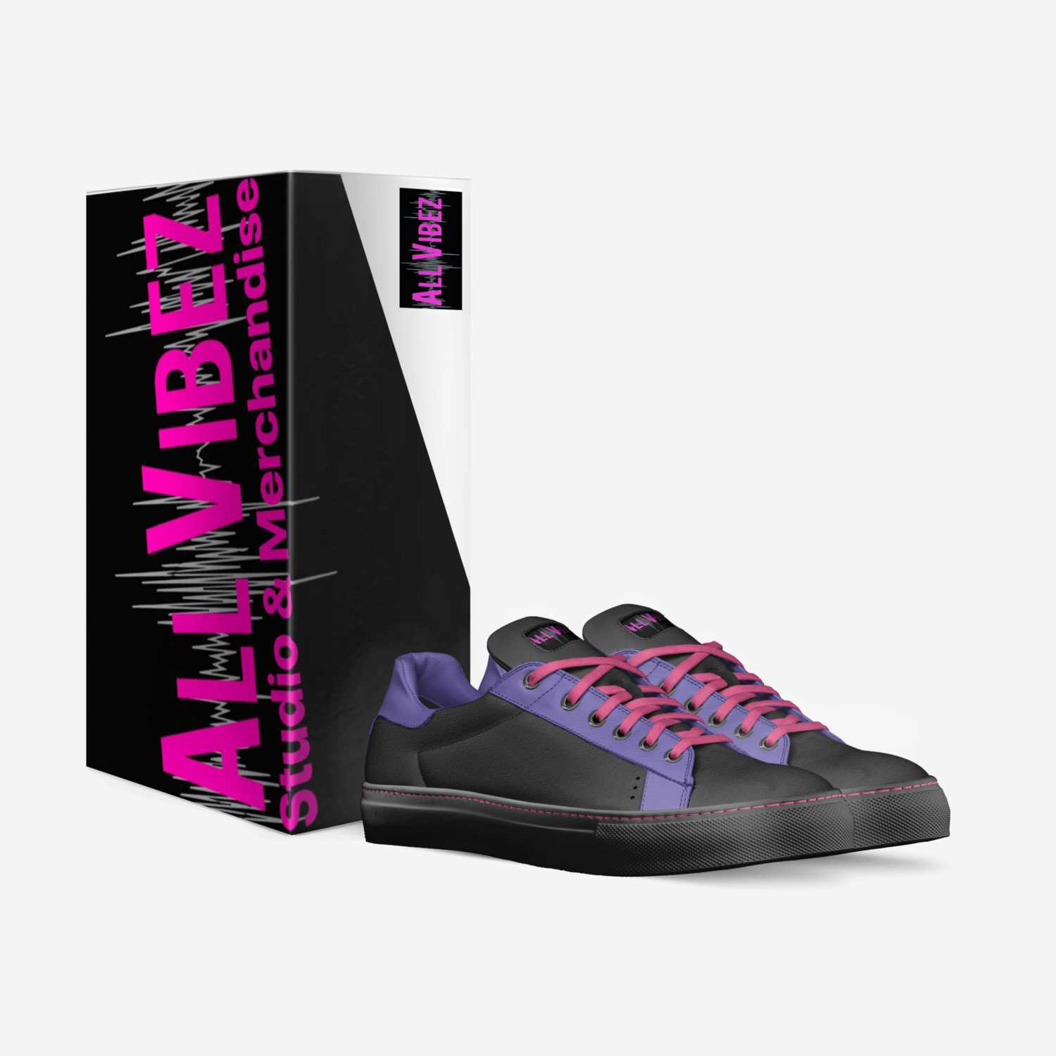 All Vibez  custom made in Italy shoes by Yesenia Labosette | Box view