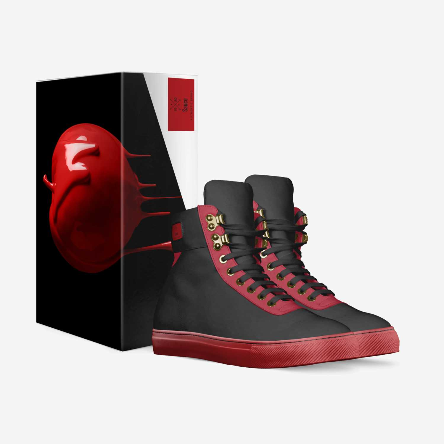 Sauce custom made in Italy shoes by Yahkov Kenaan | Box view