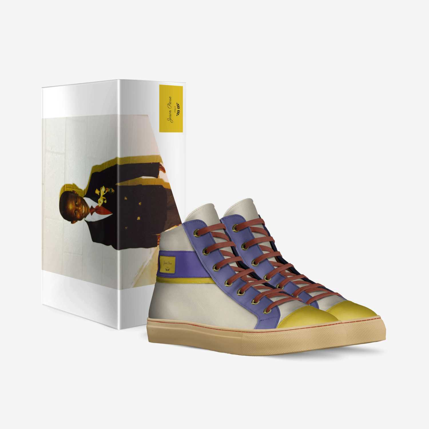 Jason Pierre custom made in Italy shoes by Jason Pierre   Box view