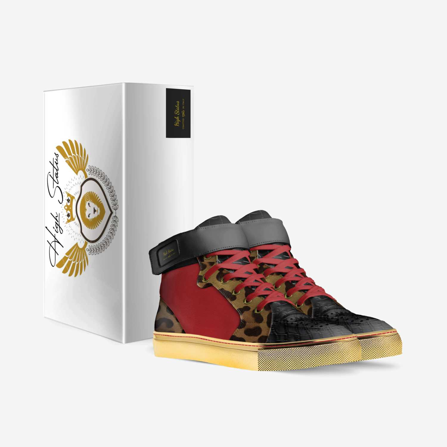 High Status custom made in Italy shoes by Ernest Ruffin   Box view