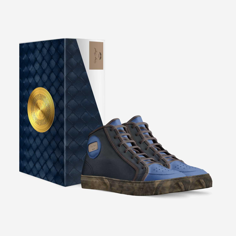Veeje' Royal custom made in Italy shoes by vaneesah Bahar | Box view