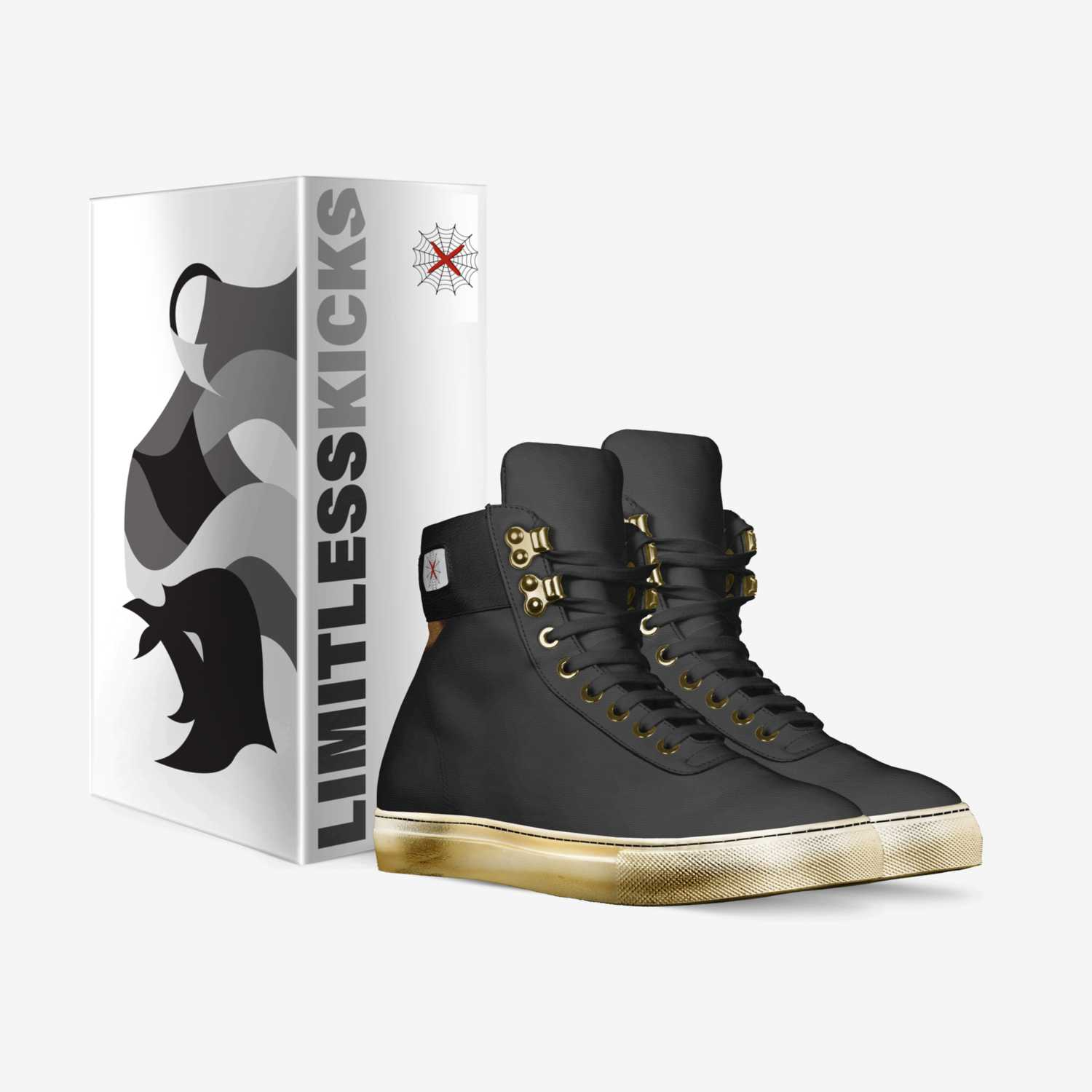 Limitless X custom made in Italy shoes by John Marchese | Box view
