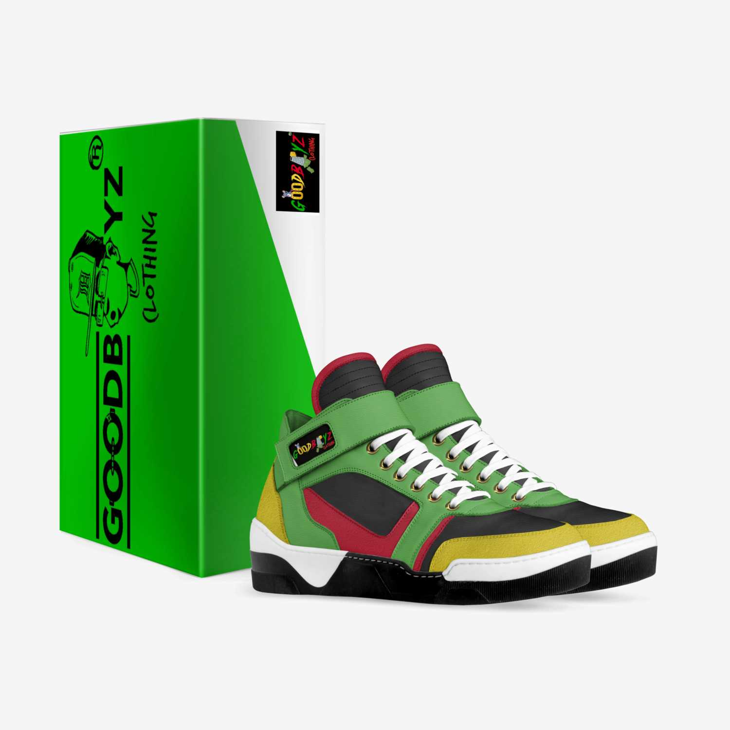 Goodboyz GBC 1.0 custom made in Italy shoes by Rodney Pearson | Box view