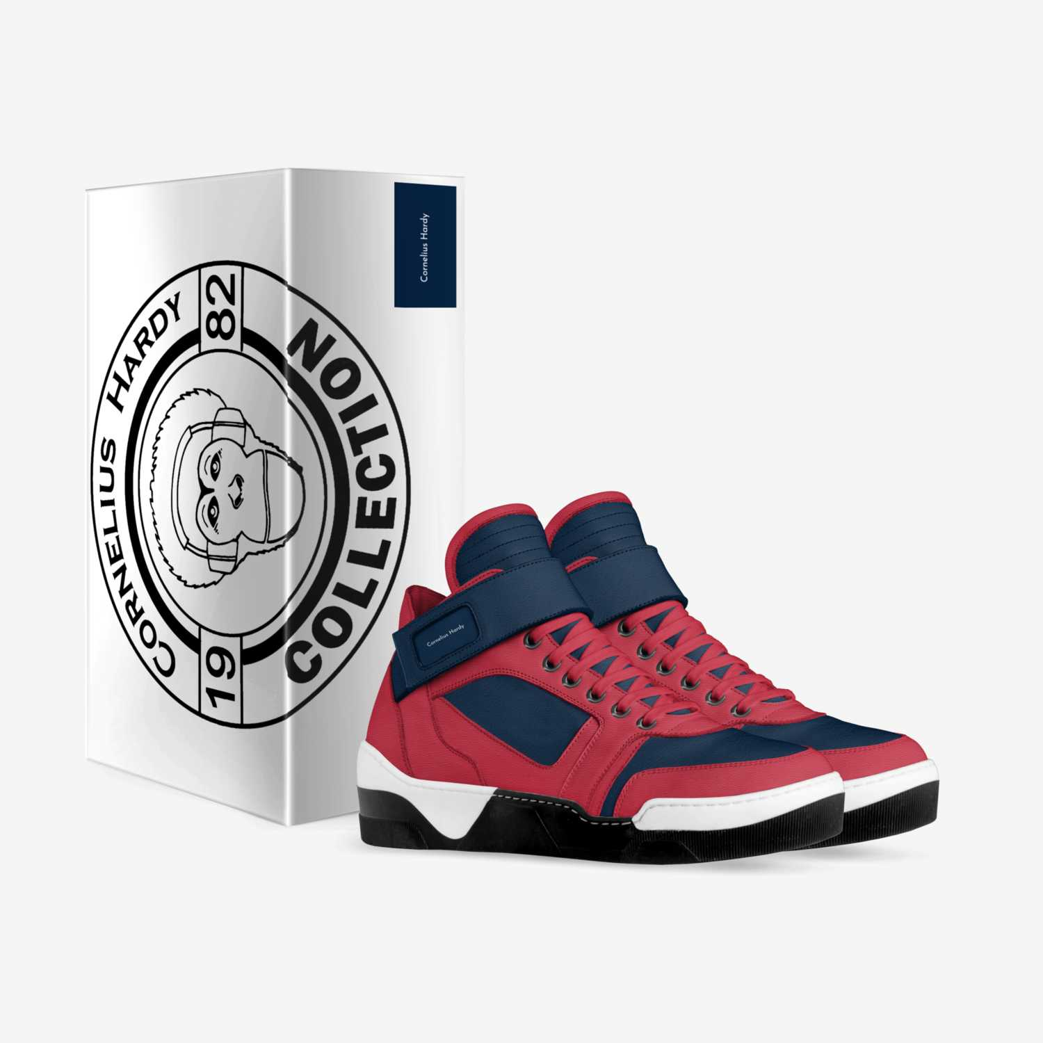 CH1 custom made in Italy shoes by Cornelius Hardy | Box view