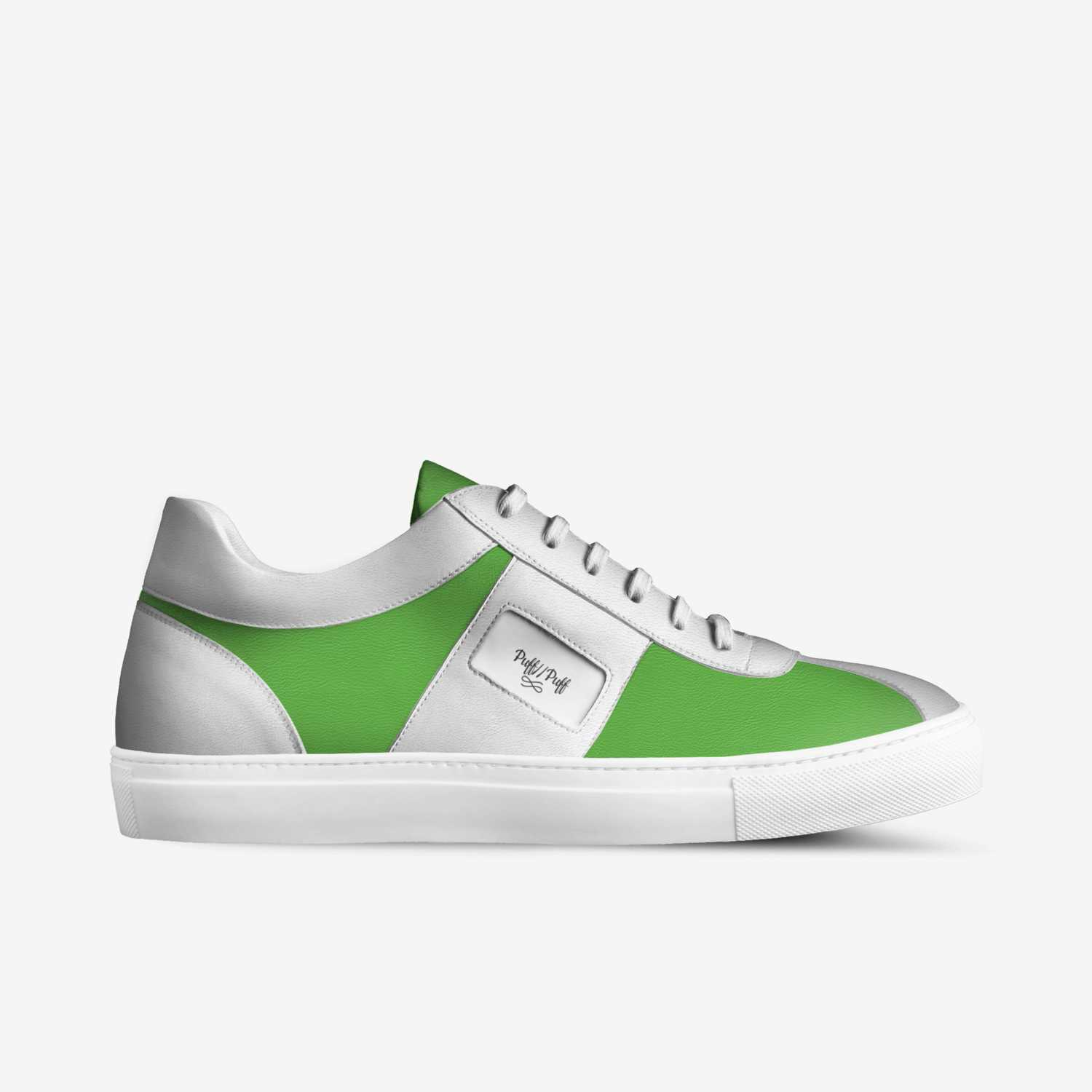 Puff//Puff custom made in Italy shoes by Norman Allen | Side view