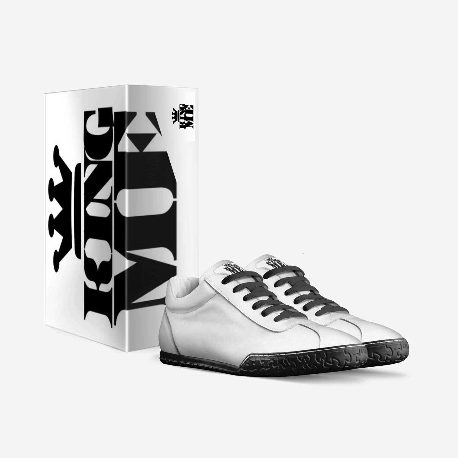 King Me custom made in Italy shoes by Jacob King | Box view