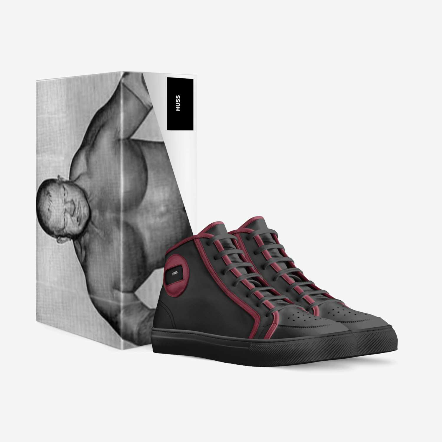 HUSS BRUISERS custom made in Italy shoes by Chris Johnson | Box view