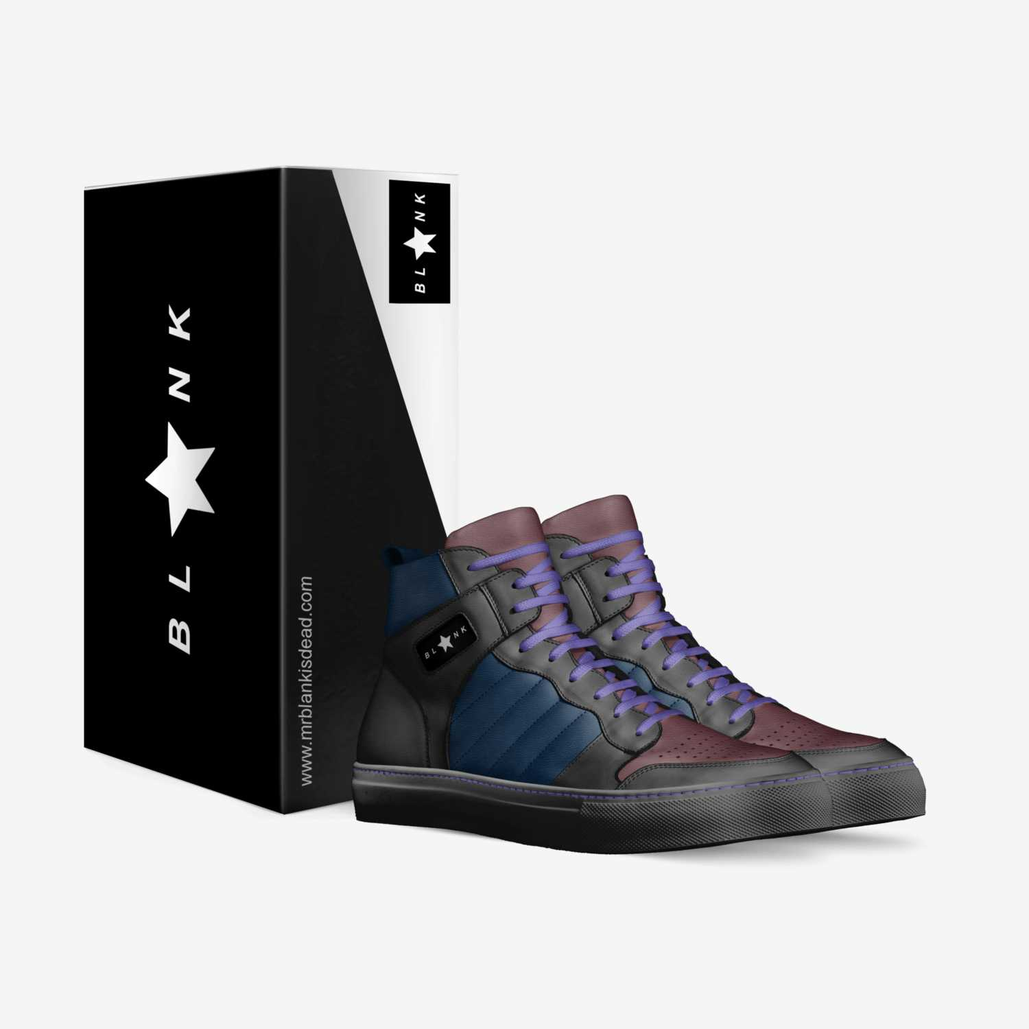 BL*NK custom made in Italy shoes by Mr Blank | Box view